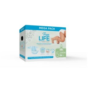 Couches 11/25 Kg - Freelife Bebe Cash Midi